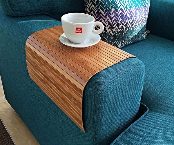 Flexible Sofa Bamboo Tray
