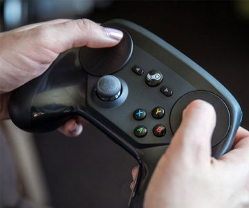 Gamers Steam Controller