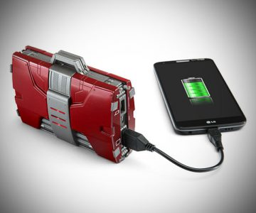 Iron Man Suitcase Mobile Fuel Cell