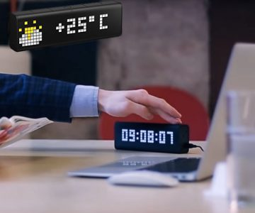 LaMetric Portable Wi-Fi Alarm Clock with Apps