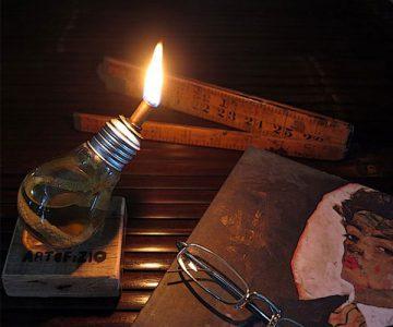 Lantern Bulb Oil Lamp