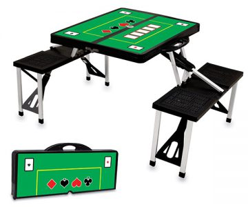 Picnic Time Portable POKER Folding Table
