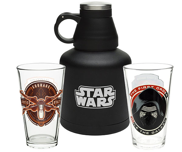 Star Wars Episode VII 3 Piece Growler Set