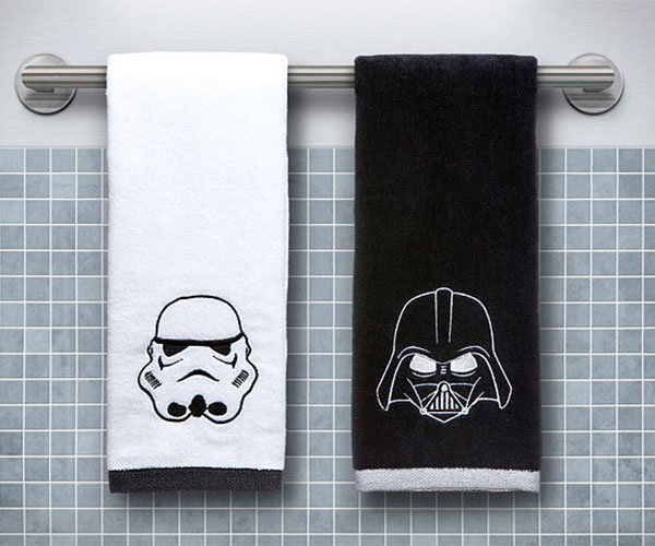 Star Wars Hand Towel Set Darth Vader Stormtrooper