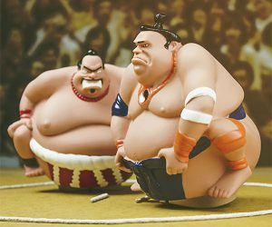Sumo Smackdown Remote Controlled Wrestling Matches