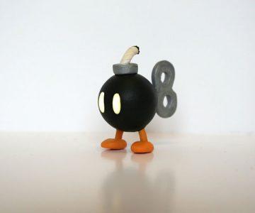 Super Mario Bob-omb Figure