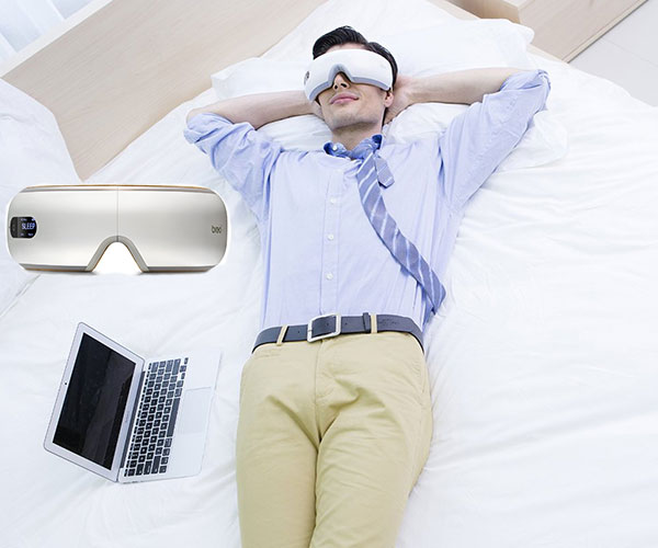 Wireless Eye Massager with Heat Compression and Music