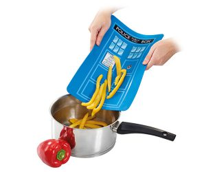 Doctor Who TARDIS Cutting Board