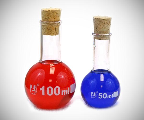Life & Mana Energy Potion Bottles
