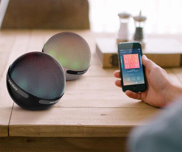 Marsboy Orb Bluetooth Speaker