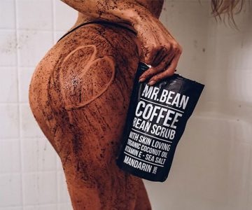 Mr Bean Organic Coffee Bean Body Scrub