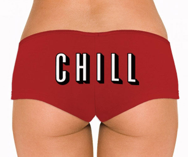 Netflix and Chill Undies