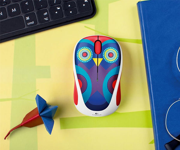 Owl Design Wireless Mouse
