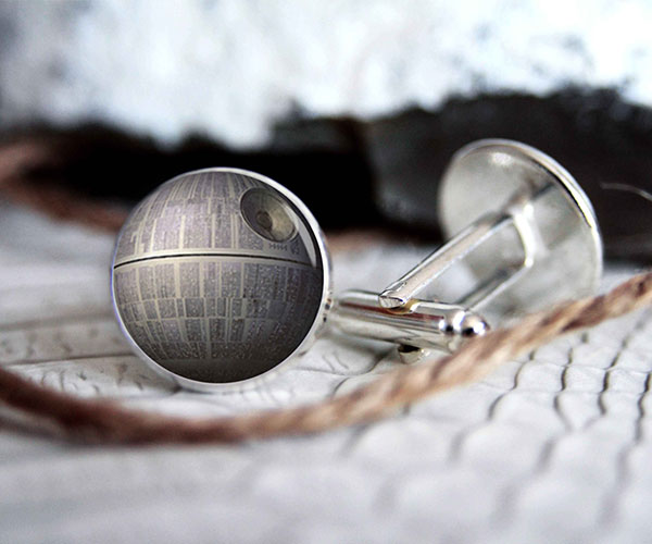 Star Wars Death Star Cufflinks