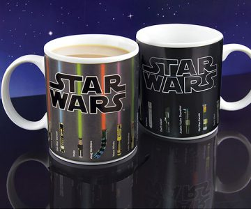 Star Wars The Force Awakens Heat Change Lightsaber Mug