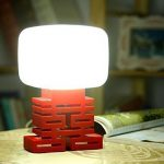 Voice Control LED Bedside Table Lamp