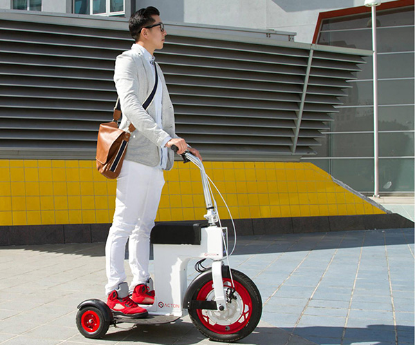 Acton M Scooter 3 Wheeled Foldable Electric Vehicle