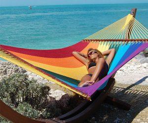 Jumbo Caribbean Rainbow Hammock