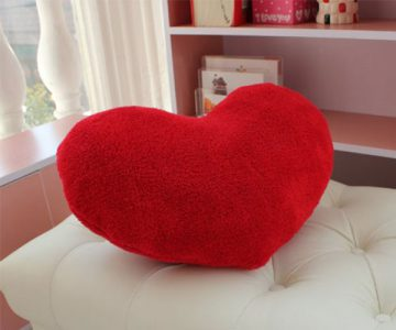 Valentines Day Heart Pillow