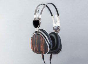 LSTN Ebony Wood Troubadour Headphones