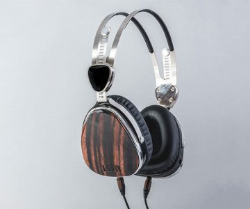 LSTN Ebony Wood Troubadour Headphones
