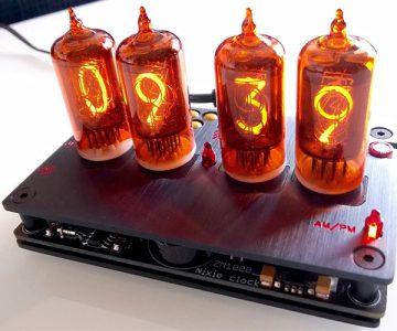 Nixie Tube Digital Clock