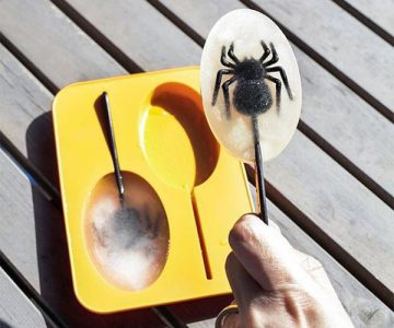 Spider Ice Pop Mold