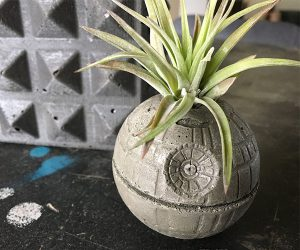 Star Wars Death Star Planter