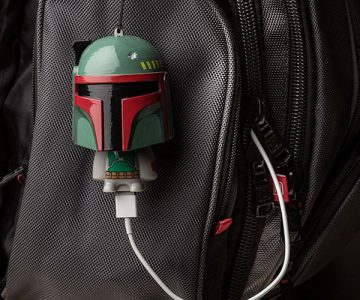 Star Wars Mighty Minis Boba Fett Usb Charger