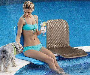 Folding Poolside Seat