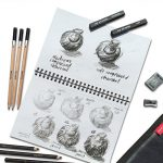 Graphite and Charcoal Sketching Set
