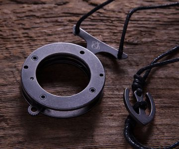 Mantis Vicious Circle Knife Necklace