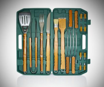 Picnic Time The 18-piece BBQ Tool Set
