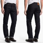 The Unbranded Brand 'UB301' Straight Leg Raw Selvedge Jeans