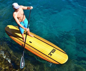 ISLE Light Wood Stand Up Paddle Board