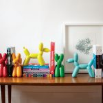 Big Top Balloon Dog Bookends