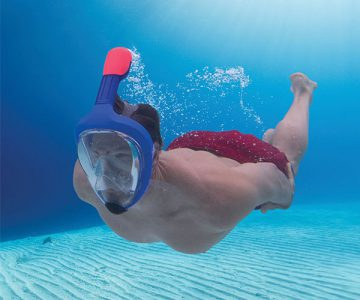 Full Face Easy Breathing Snorkeling Mask
