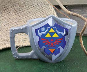 Legend of Zelda Shield Mug