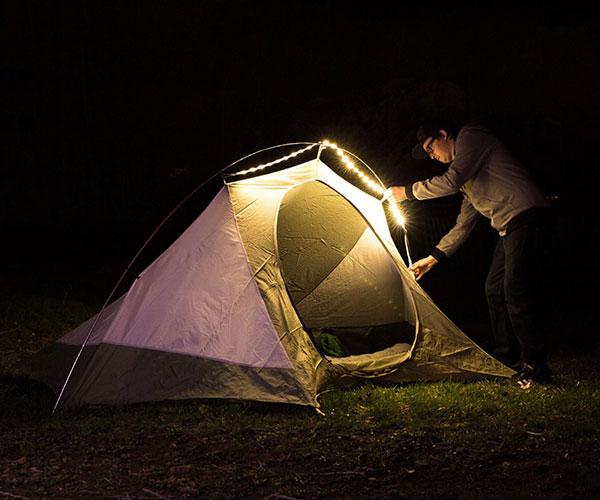 Luminoodle Portable LED Light Rope and Lantern