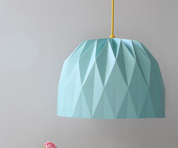 Origami Pendent Lamp