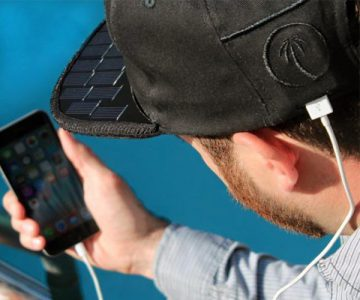 Solsol Solar Hat That Charges Your Phone