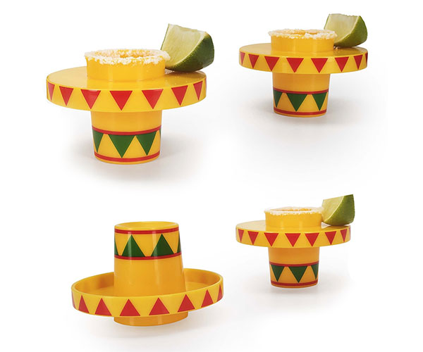 Sombrero Slammers Shot Glasses