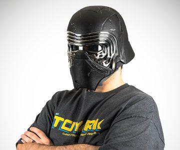 Star Wars Black Series Kylo Ren Voice Changing Helmet