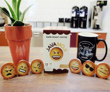 Emoji K-Cups Dark Roast Coffee by JavaMoji