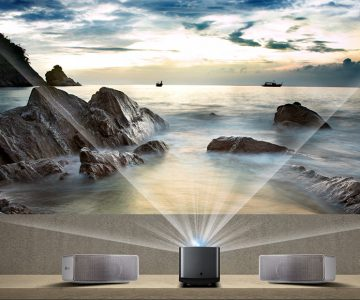 LG Ultra Short Throw Smart Home Theater Projector