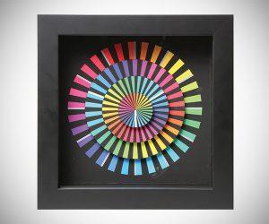 Colorful Spectrum Clock
