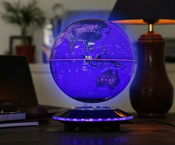 Magnetic Levitation Rotating World Globe