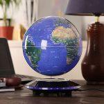 Magnetic Levitation Rotating World Globe