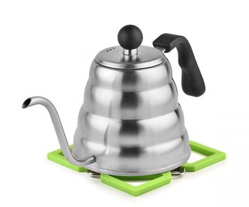 Planetico Pour Over Kettle and Silicone Coaster