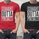 Pokemon Go Inspired Straight Outta Pokeballs T-Shirt